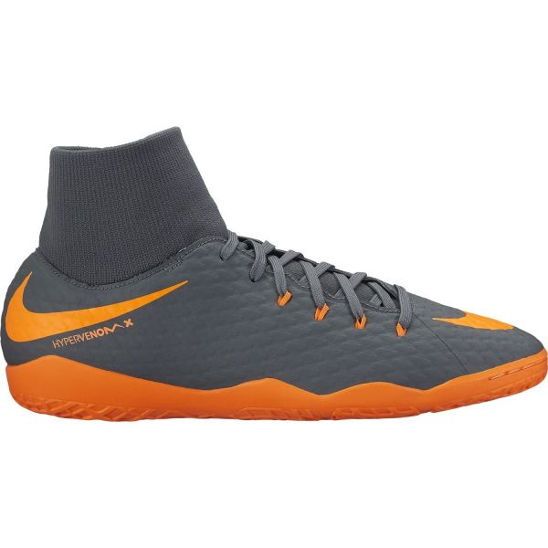 Seguro Escupir Pegajoso  Nike Men's Hypervenom PhantomX 3 Academy Dynamic Fit (IC) Indoor/Court  Football Boot