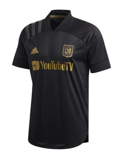 adidas Men's LAFC Authentic Home Jersey