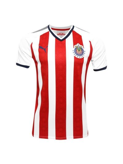 Puma Chivas Home Jersey 17 Red