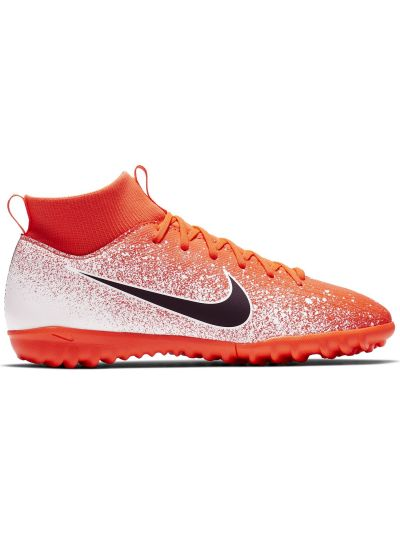 Nike Jr. SuperflyX 6 Academy TF Little/Big Kids' Artificial-Turf Football Boot