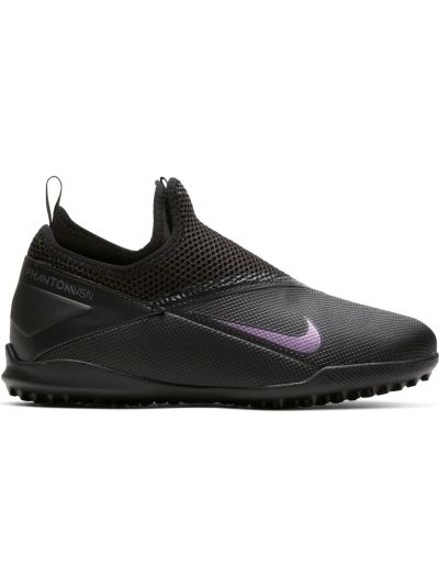 Nike Jr. Phantom Vision 2 Academy Dynamic Fit TF Little/Big Kids' Artificial-Turf Soccer Shoe