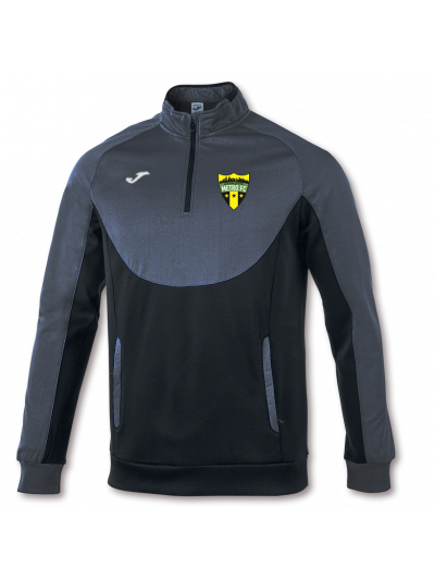 Charlotte Metro FC 1/4 Zip Jacket Grey