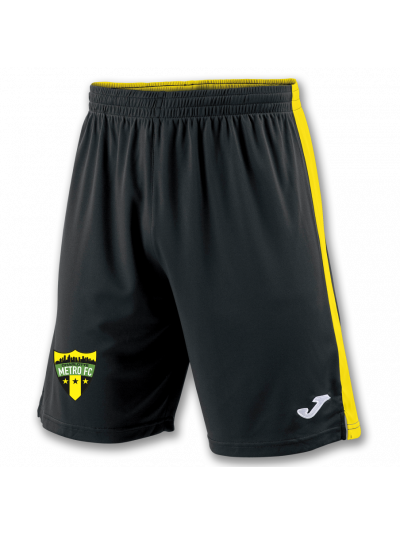 Charlotte Metro FC Game Short Black/Yellow