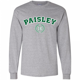 Paisley IB Long Sleeve Adult T-Shirt