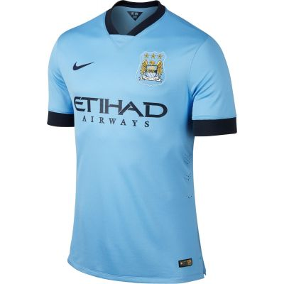 Nike Manchester City Home Stadium Jersey 2014