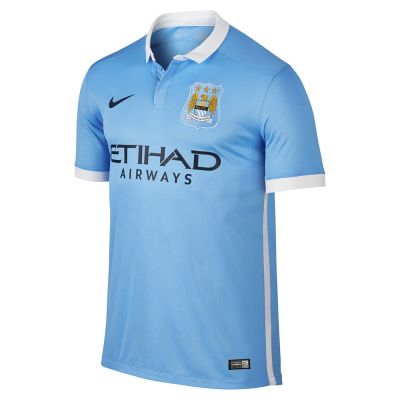 Nike Manchester City Home Stadium Jersey Youth 2016