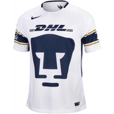 Nike Men's Pumas Home Jersey 17 White/Gold