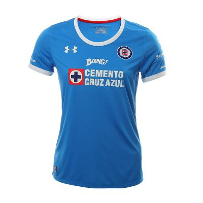 Under Armour Cruz Azul Home Women's 2016 Royal Jersey