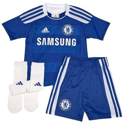 adidas Chelsea Home Mini-Kit 2011/12
