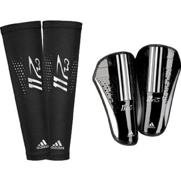adidas 11Pro Pro Lite Black-Silver Shinguard