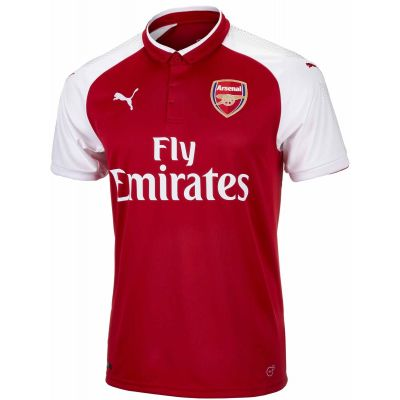 PUMA Men's Arsenal 17/18 Home Stadium Jersey