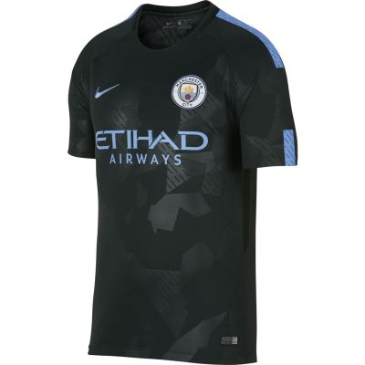 Nike	Men's Breathe Manchester City FC Stadium Jersey