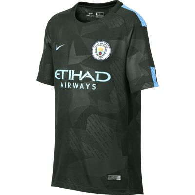 Nike Kids' Breathe Manchester City FC Stadium Jersey