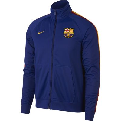 Nike FC Barcelona Men's Full-Zip Track Jacket