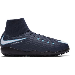 Nike Kids' Jr. HypervenomX Phelon III Dynamic Fit (TF) Artificial-Turf Football Boot