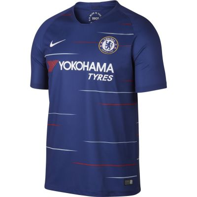 Nike Men's Breathe Chelsea FC Home Stadium Jersey