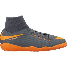 Nike Kids' Jr. Hypervenom PhantomX 3 Academy Dynamic Fit (IC) Indoor/Court Football Boot