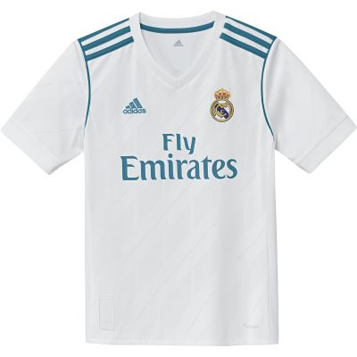 adidas Boys' Real Madrid Home Jersey 17