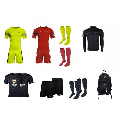CF Boys/Men Goalkeeper Package 2018