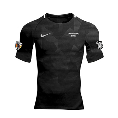 CF Boys/Men N Dry Challenge II Jersey Black