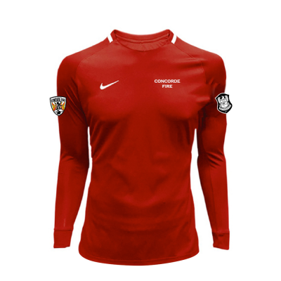 CF Girl/Women LS Goalkeeper Jersey Red (OPTIONAL)