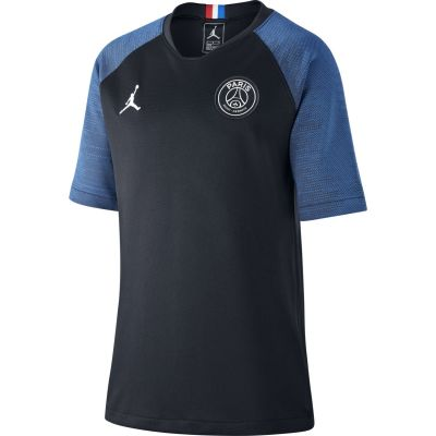 Nike Jordan x Paris Saint-Germain Strike Big Kids' Short-Sleeve Soccer Top