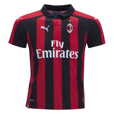 PUMA AC Milan Youth Home Jersey 18/19