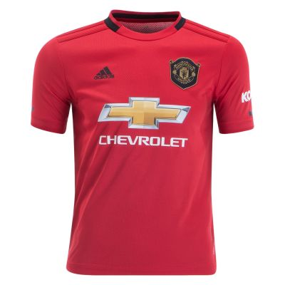 adidas Youth Manchester United Home Jersey