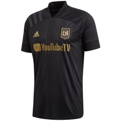 adidas Men's Los Angeles FC Home Jersey