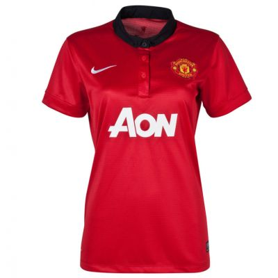 Nike Women's Manchester United Home Jersey 13