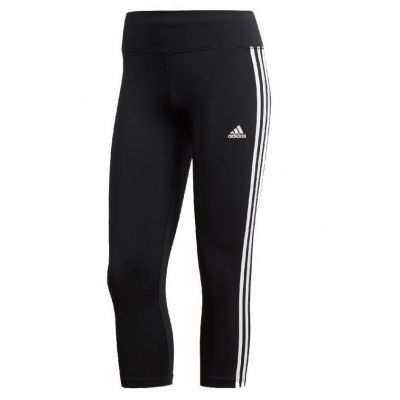 adidas Women's Training Design Stripes 3/4 Tights